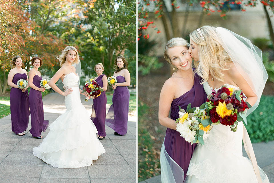 Wedding portfolio for Cleveland wedding photographer Hunter Photographic