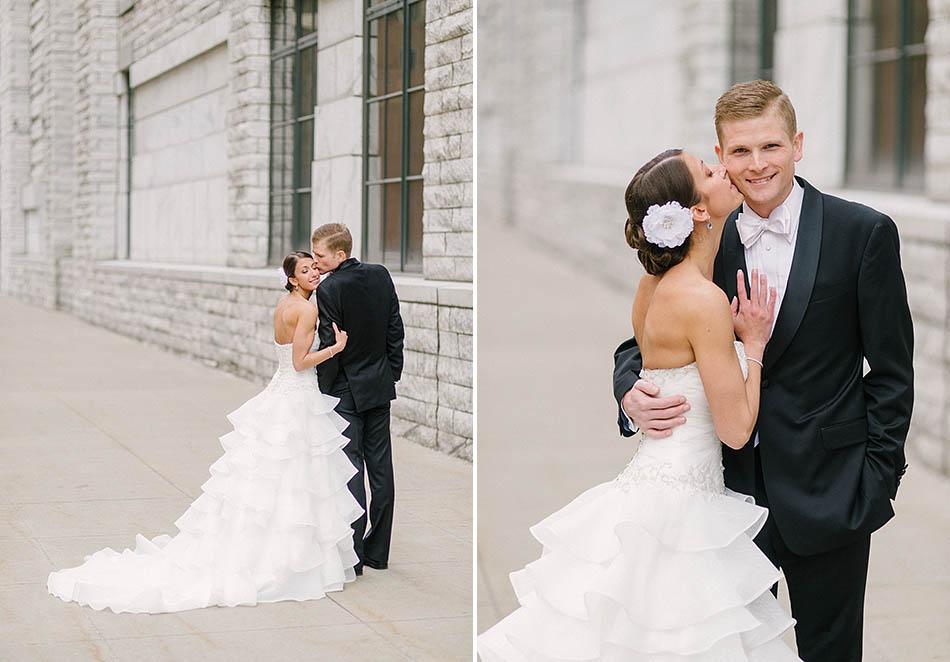 Evan hunter wedding