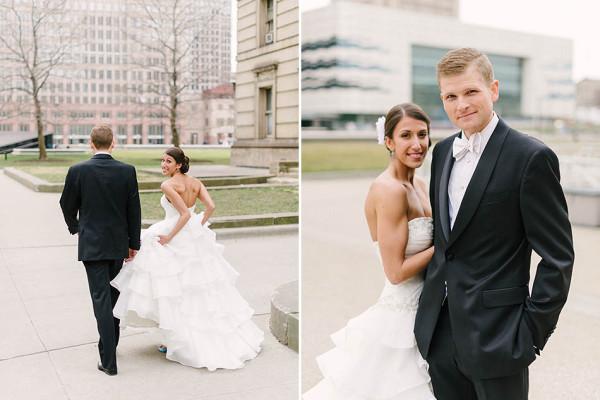 Julia & Evan - Spring Wedding at the Hyatt Arcade