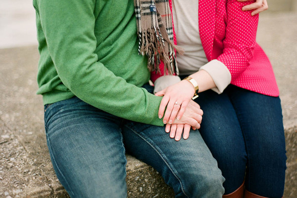Courtney & Bill - A Winter Engagement in Lakewood