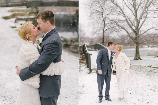 Emily & Greg - A Winter Wedding in Mentor