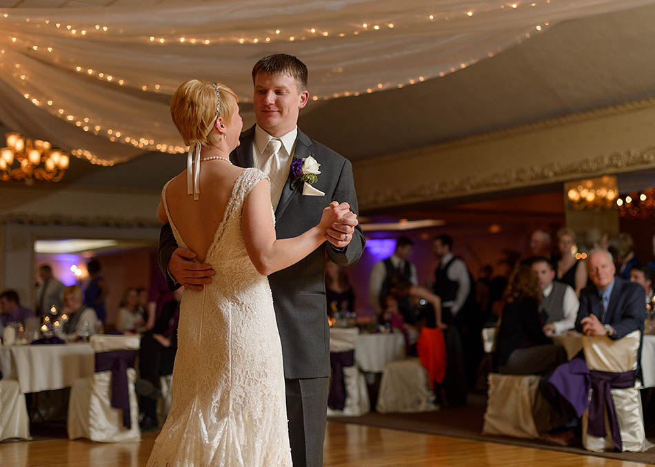 Winter wedding at St. John Vianney with Emily and Greg