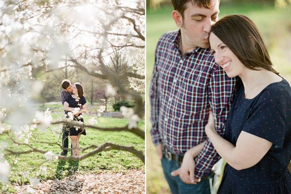 Michelle & Adam - Sunset Engagement in Kirtland