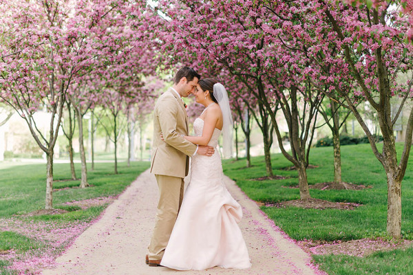 Natalie & Sean - A Blush Colored Wedding at Portage Country Club