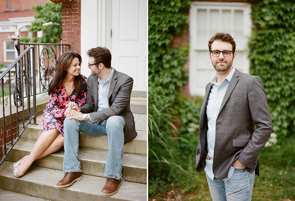 A Chagrin Falls engagement session with Alyson and Kevin