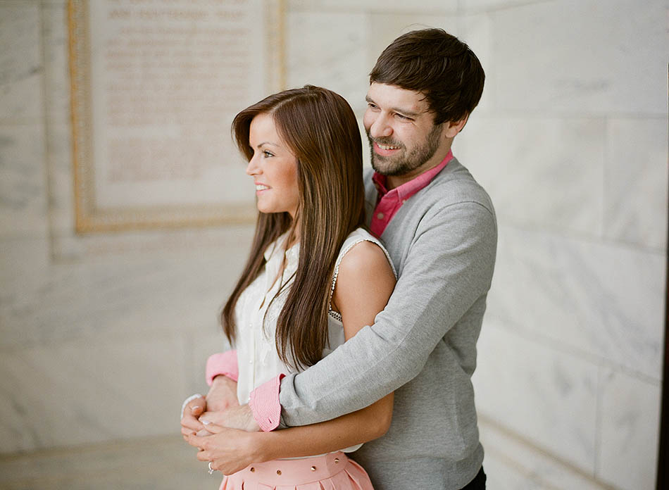 Cleveland Museum of Art engagement session with Madeline and Scott