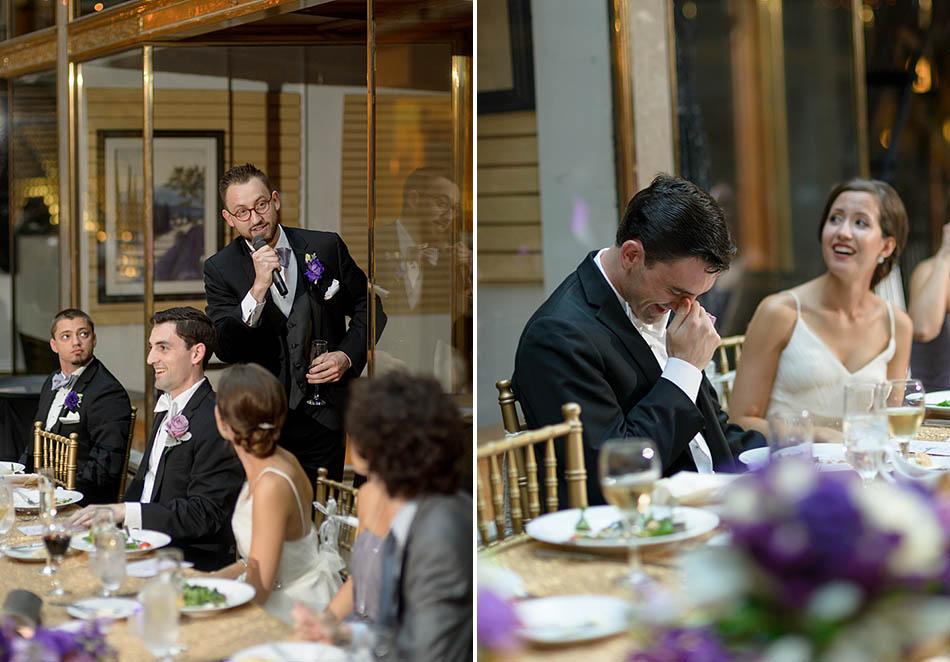 Hyatt Arcade Cleveland wedding with Caroline and Todd.