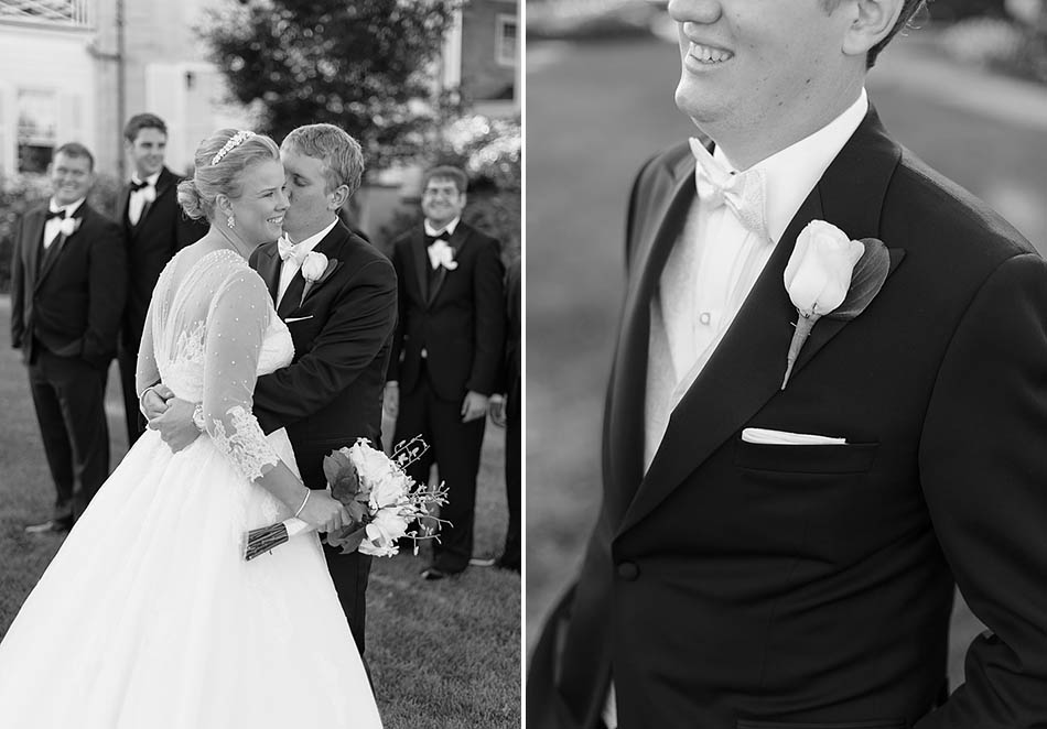 The Country Club wedding in Pepper Pike by Cleveland wedding photographers Hunter Photographic