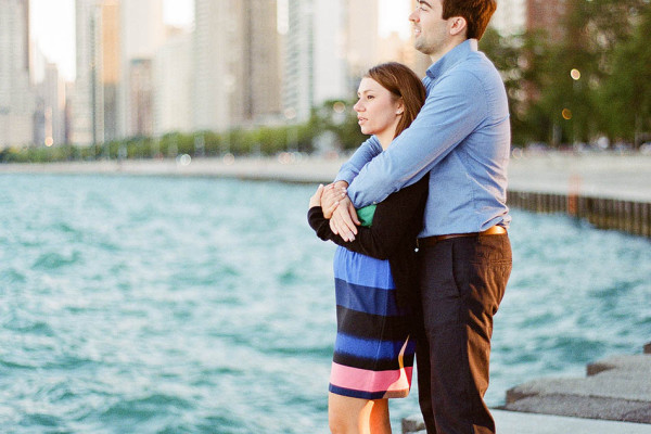 Annie & Kevin - One Frame from Chicago
