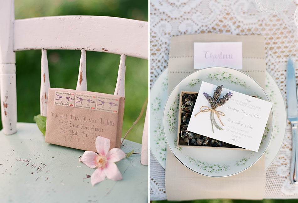 Lavender and sage styled Cleveland bridal shower photography by Hunter Photographic