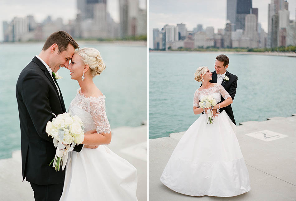 A St. Vincent DePaul Cathedral and Chicago History Museum wedding in downtown