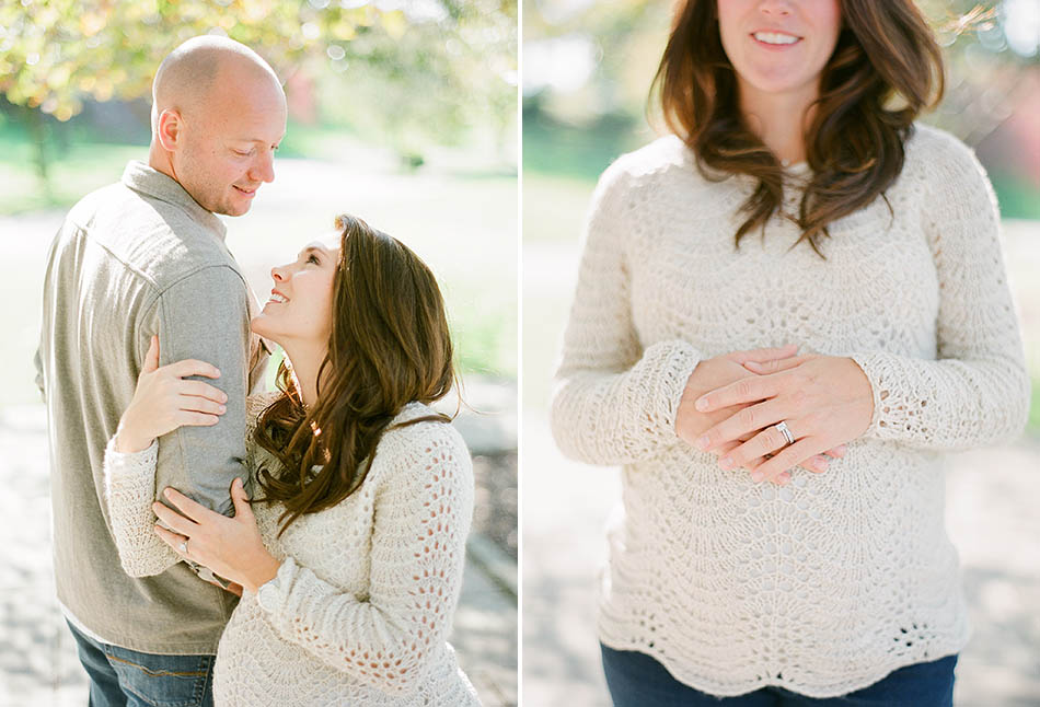 A family maternity session for Tesse and Ryan Ruhlman captured in Cleveland