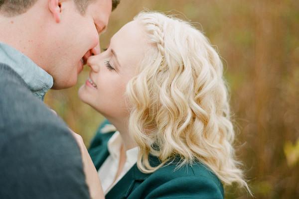 Katie & Joe: Autumn Engagement Session at Holden Arboretum
