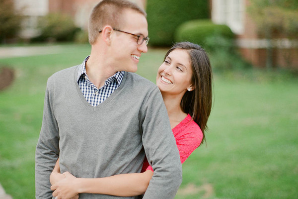 Katie & Andy - Engagement Session at Cleveland's John Carroll University