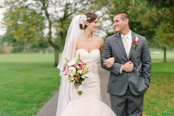 Rain Brings Luck at this Blair Center Wedding