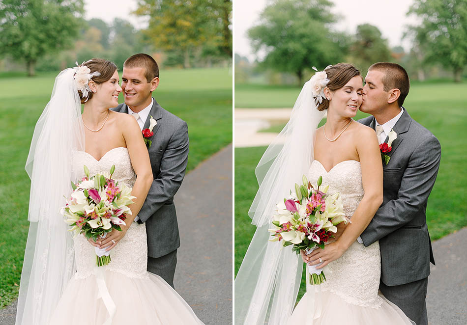 A Blair Center wedding in Westfield, Ohio with Samantha and Scott