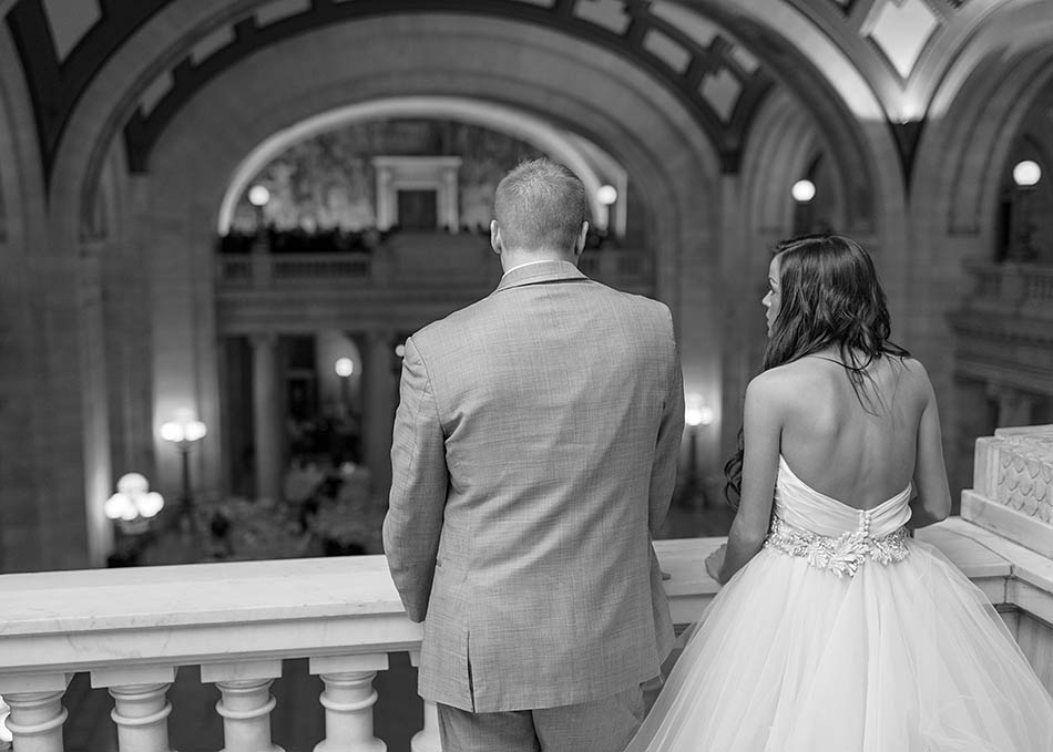 Cleveland Old Courthouse wedding with Madeline and Scott