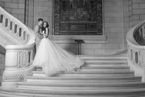 Cleveland Old Courthouse Wedding - Madeline & Scott