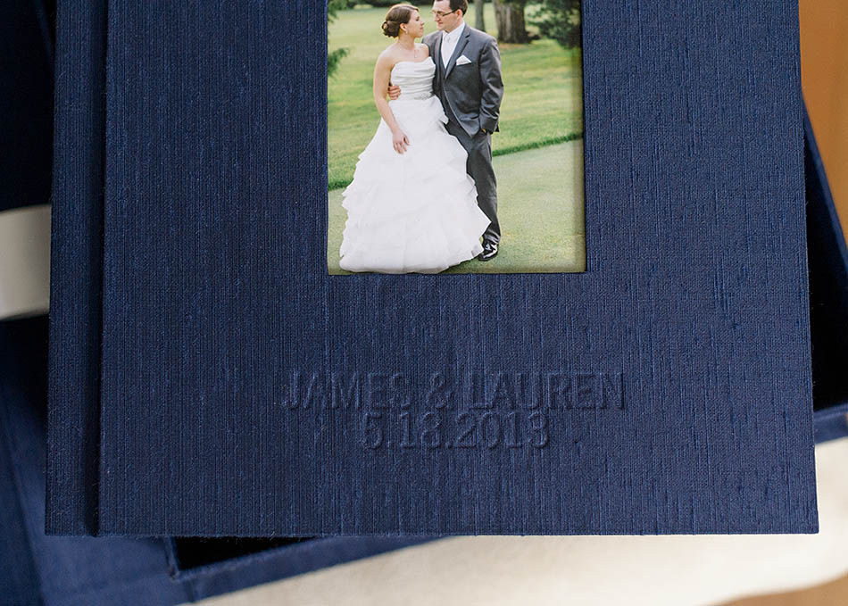 Lauren and James' gorgeous wedding album from Hunter Photographic