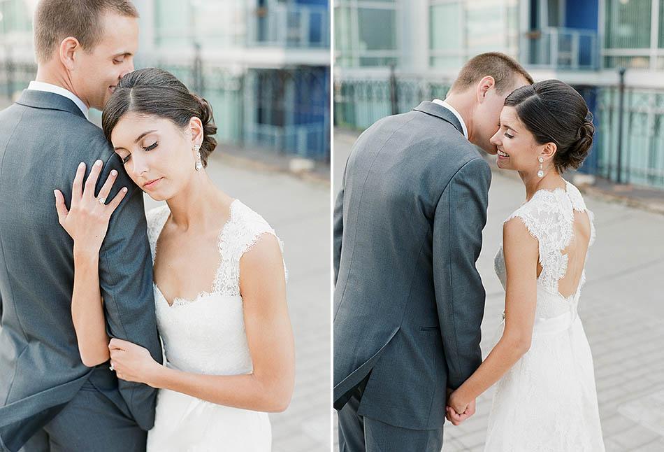 A Cleveland Key Center wedding captured on film by Cleveland wedding photographer Hunter Photographic