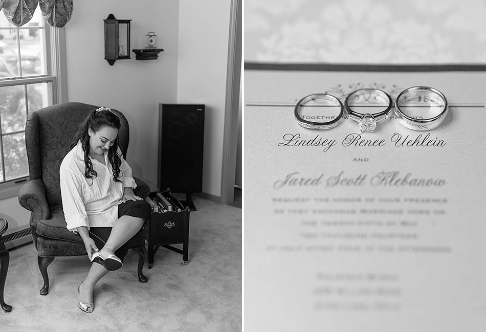 An Avon Lake wedding at Fountaine Bleau with Lindsey and Jared