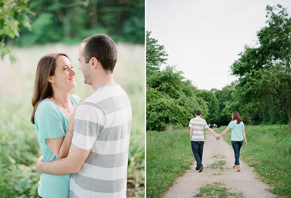 Caitlin & Ryan - Chagrin Falls Summer Engagement