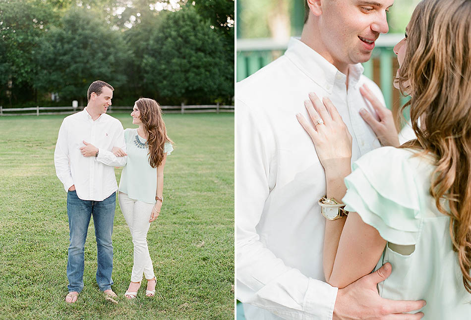 A summer engagement session in Cleveland with Jacklyn and Adam.