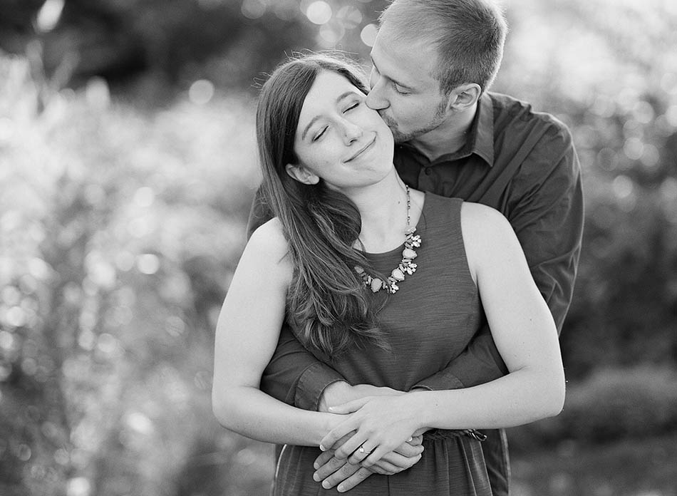 A summer engagement session at Holden Arboretum with Anna and Bryan.