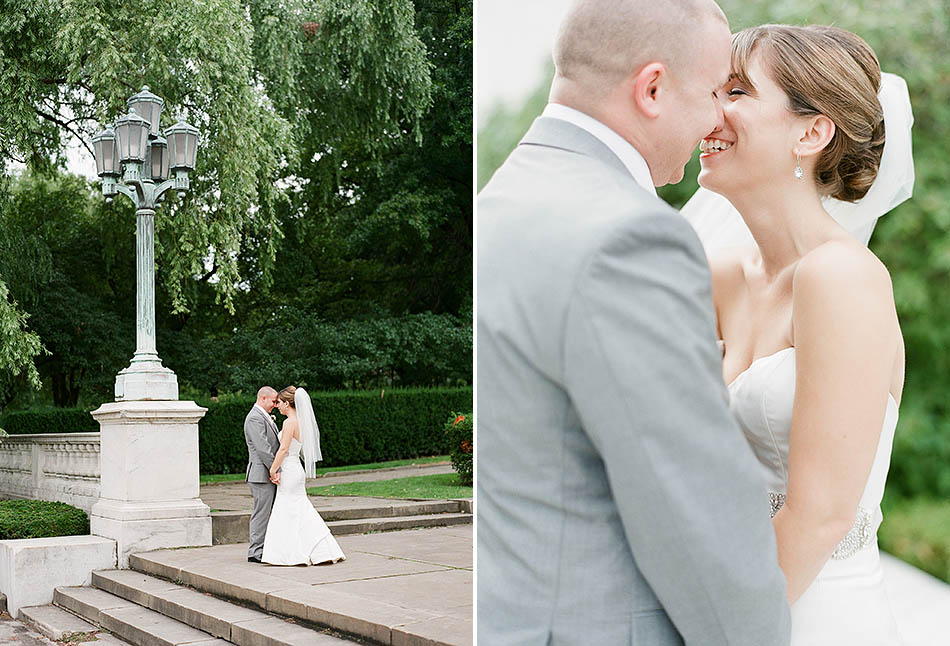 A summer wedding at St. Noel Church in Willoughby Hills and The Ritz Carlton Cleveland with Aria and Jeff.