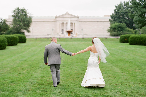 A Ritz Carlton Cleveland Wedding in Pastel Pink