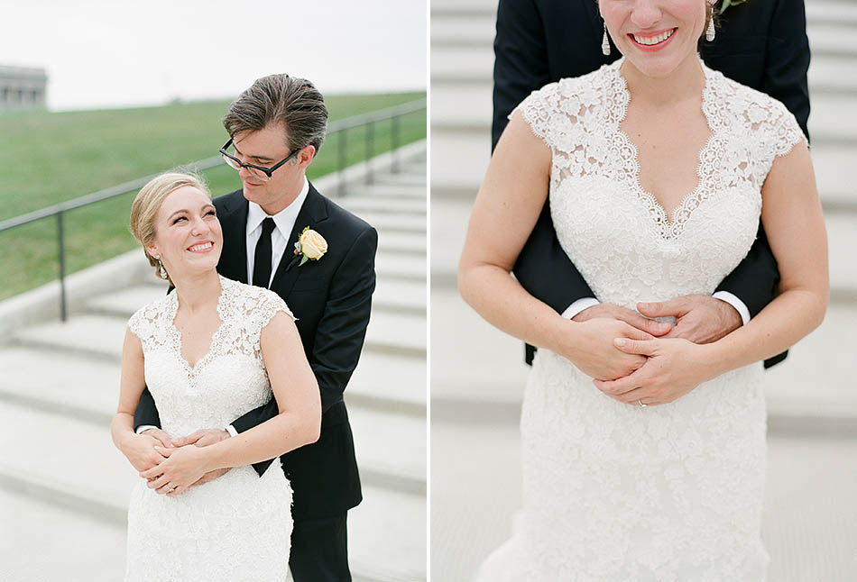 Downtown Cleveland wedding photography by Cleveland wedding photographer Hunter Photographic