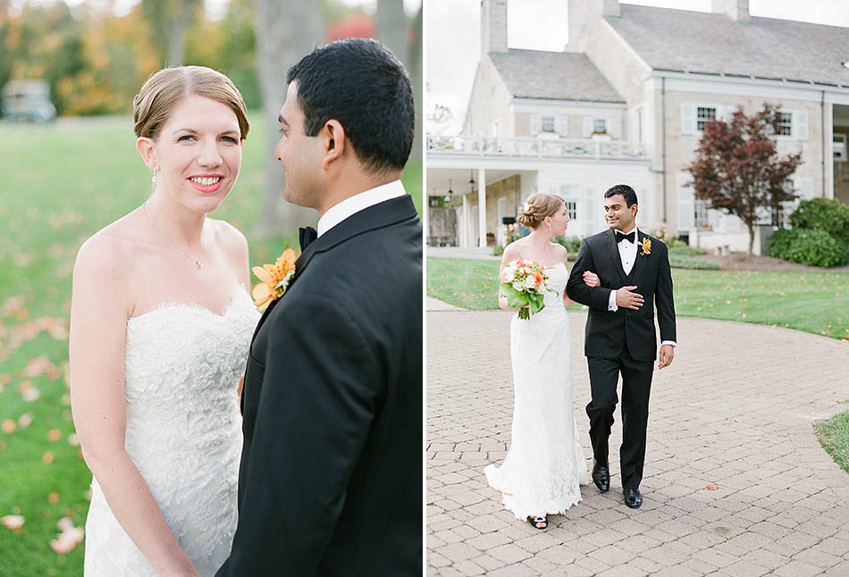 First look at a Country Club Pepper Pike wedding with Grace and Rahul by Cleveland wedding photographer Hunter Photographic