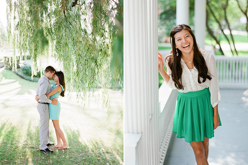Museum of Art engagement session by Cleveland wedding photographer Hunter Photographic