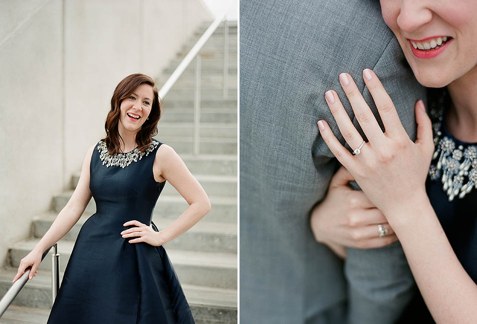 Cleveland engagement photography at the Museum of Art and Cultural Gardens with Clare & Kyle