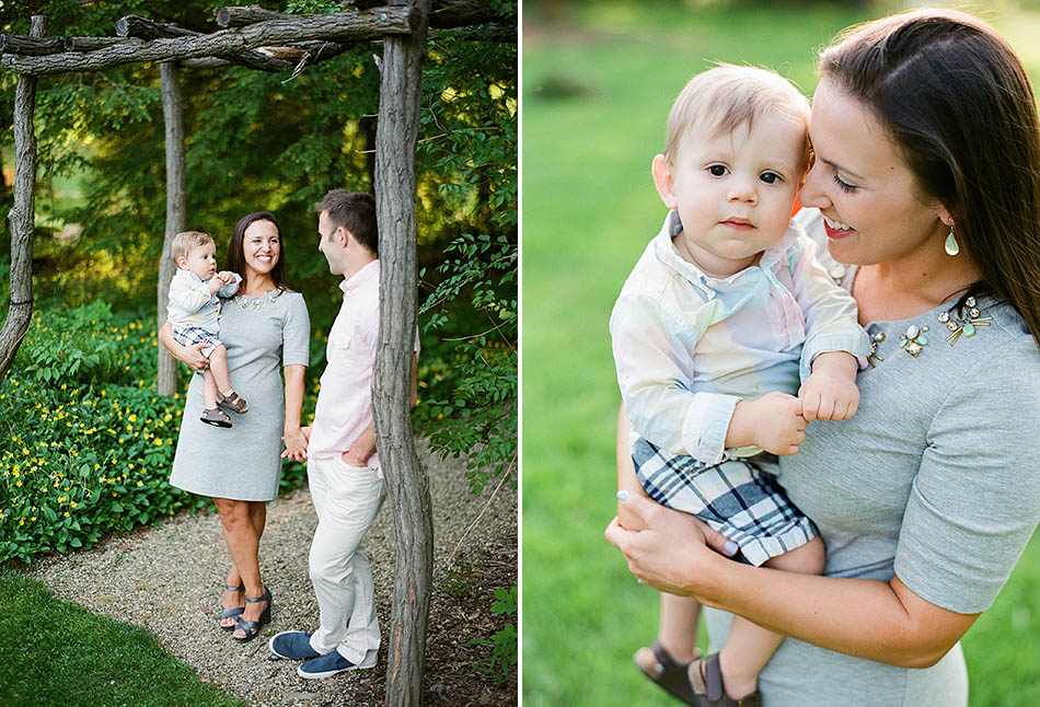 Cleveland family photography at Holden Arboretum captured on film