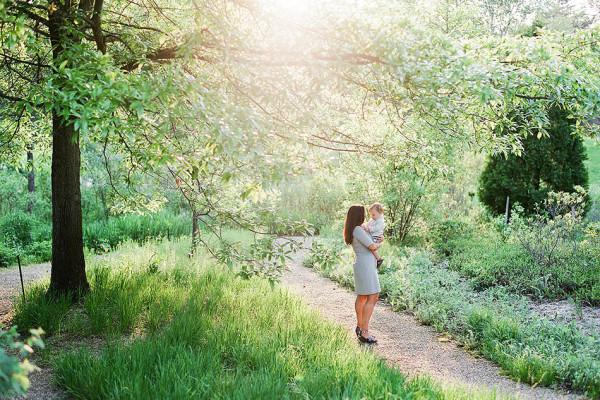 Cleveland Family Photography - Holden Arboretum - Henry & Didi