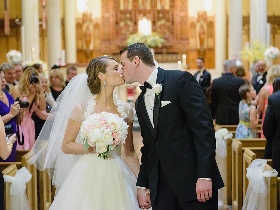 Cleveland wedding photography at St. John's Church