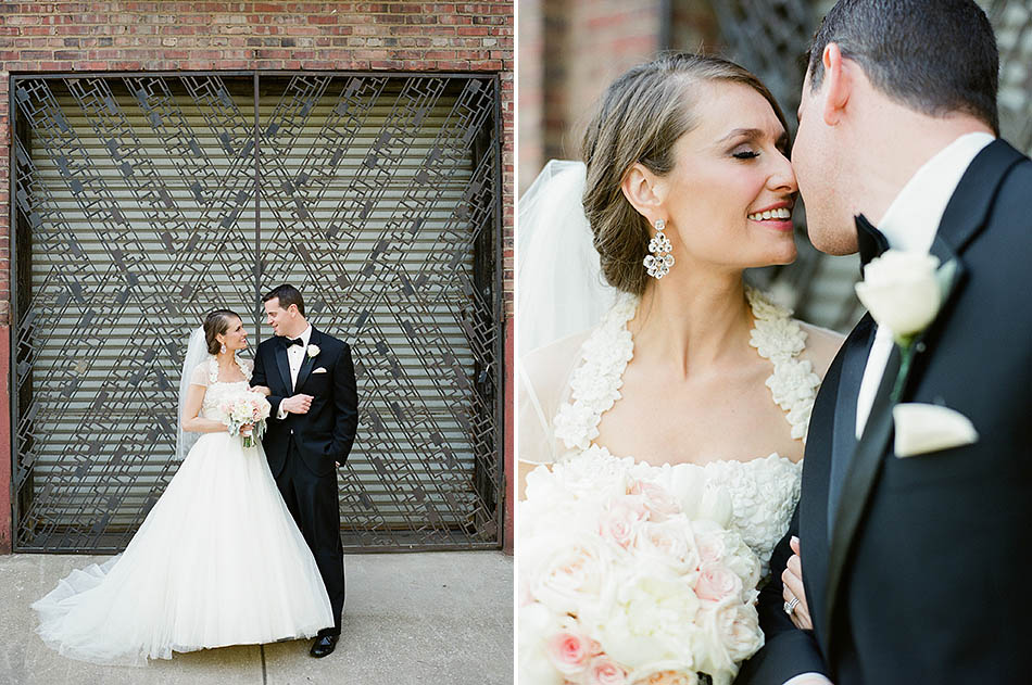 Cleveland wedding photography in downtown Cleveland