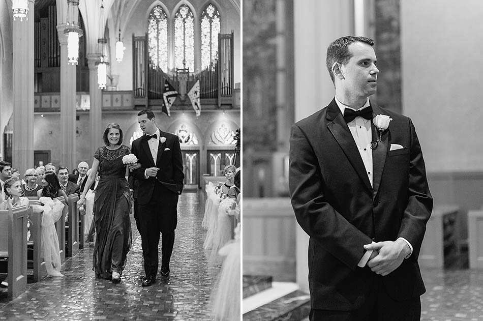 Cleveland wedding photography at St. John's Cathedral