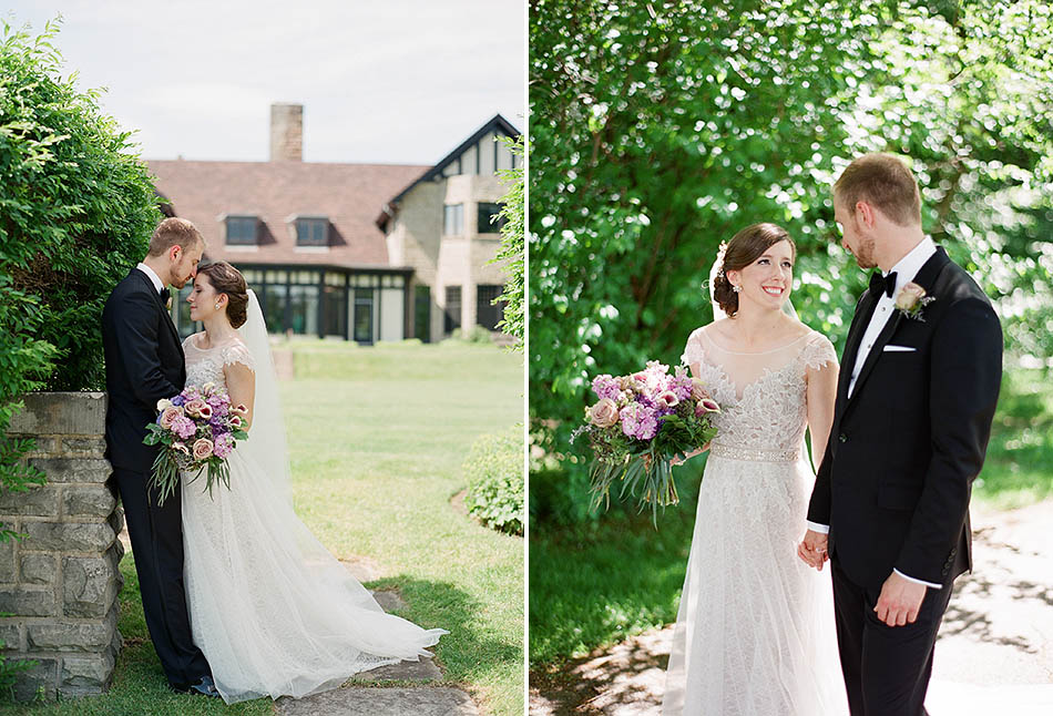 First look at Kirtland Country Club by Cleveland wedding photographer Hunter Photographic