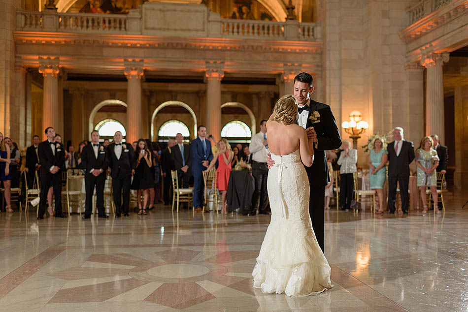 Cleveland Courthouse wedding photography with Samantha and John