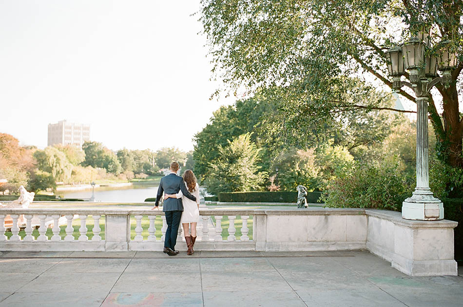 Cleveland engagement photos with Megan and Ryan