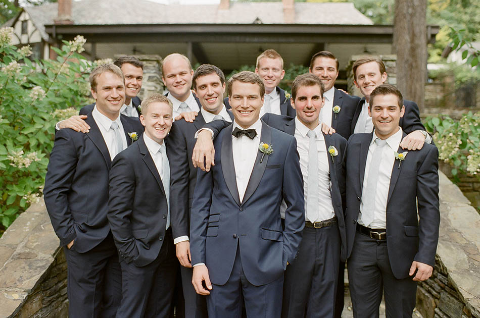 The Club at Hillbrook wedding photos in Chagrin Falls captured on film