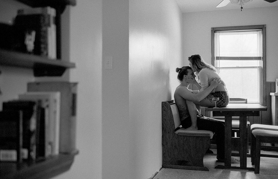 In home session captured in Cleveland