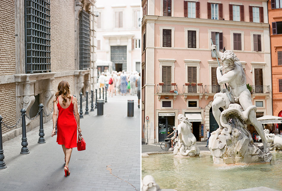 EEurope travel photography from Rome, Italy captured in film