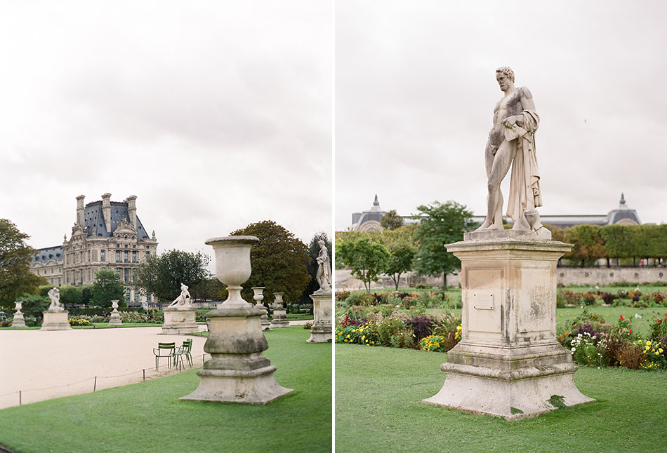 Europe travel photography from Paris, France captured in film
