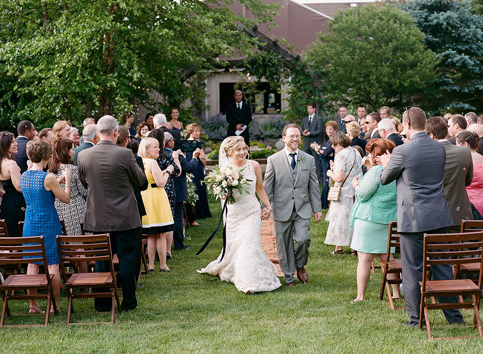 Thorncreek Winery wedding photos captured on film with Emily and Drew. by Cleveland wedding photographer Hunter Photographic