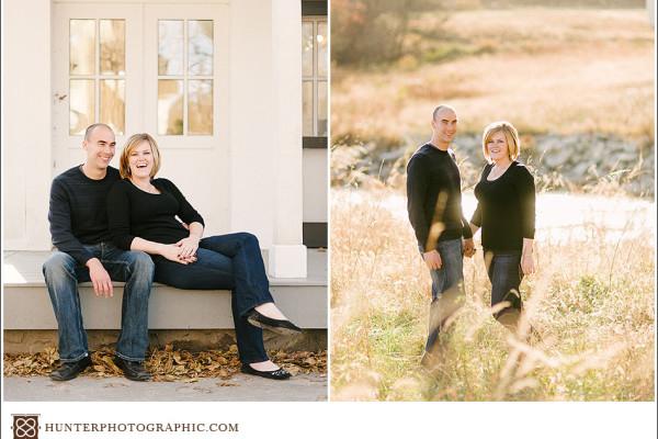 Annie & Derick - An Autumn Engagement in Hudson, Ohio