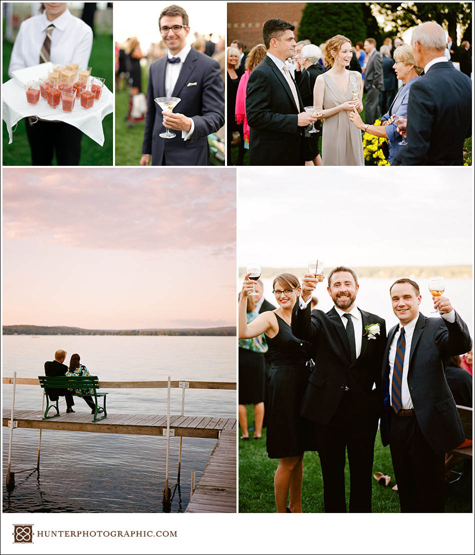 Katie and Mischa's victorian-inspired wedding in Chautauqua, New York