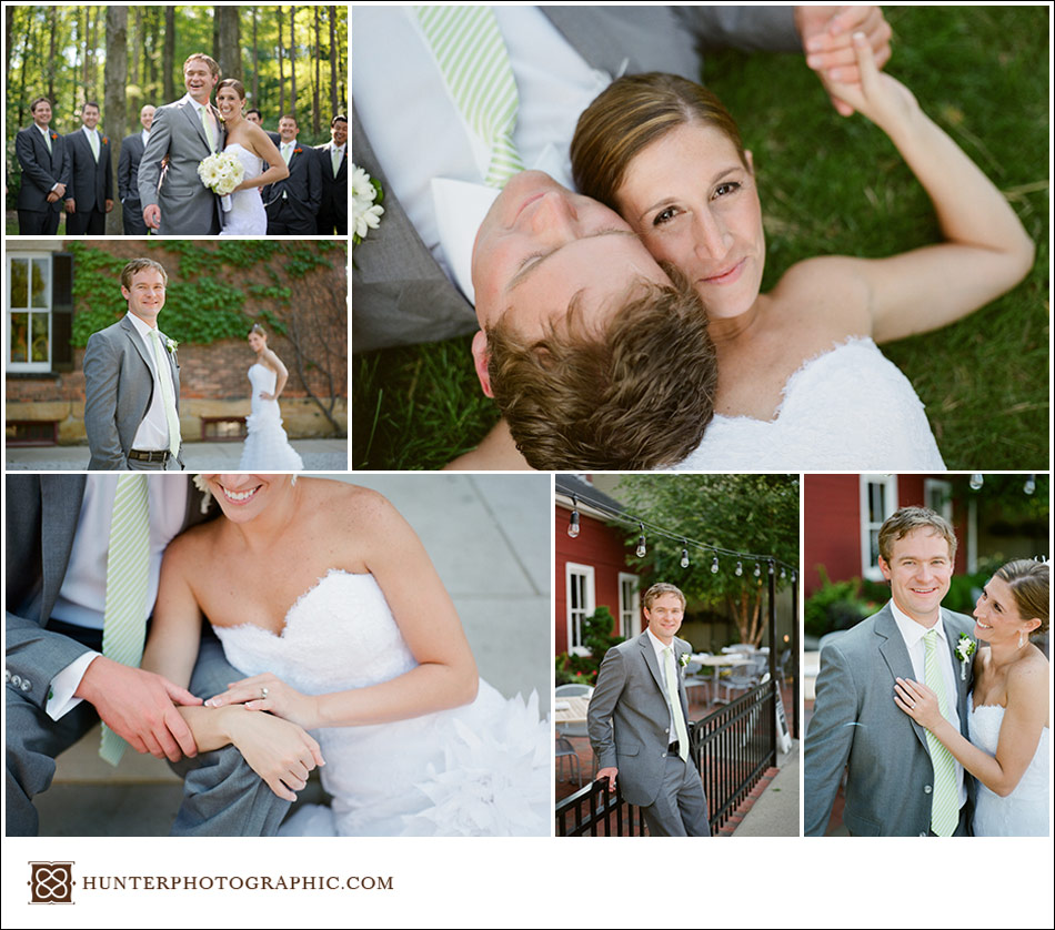 Molly and Zac's wedding in Solon, Ohio